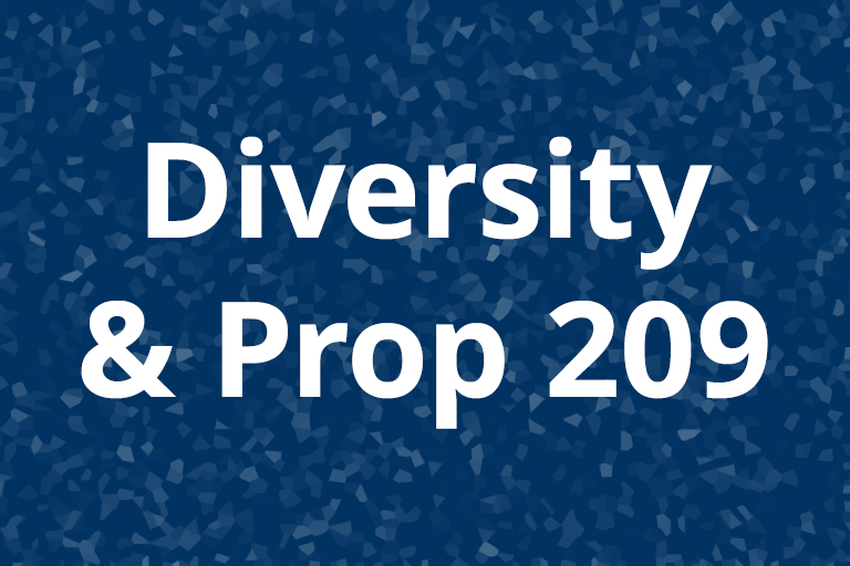 Diversity and Prop 209