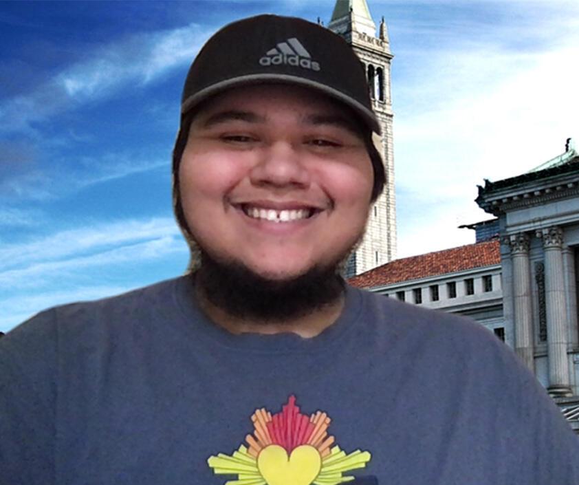 Photo of Native American Student Development Intern Caelum Peyron