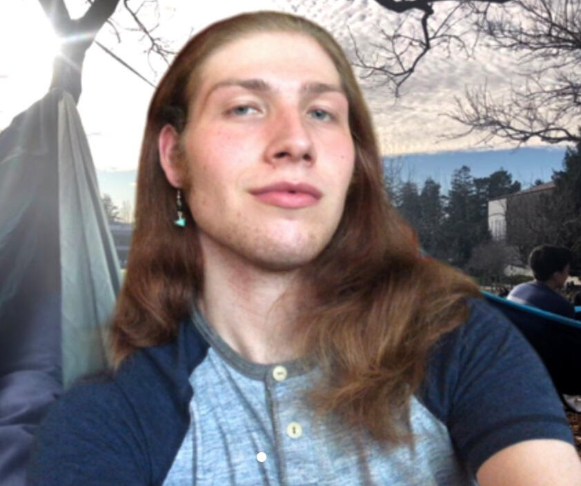 Photo of Native American Student Development Intern Fox Stowe