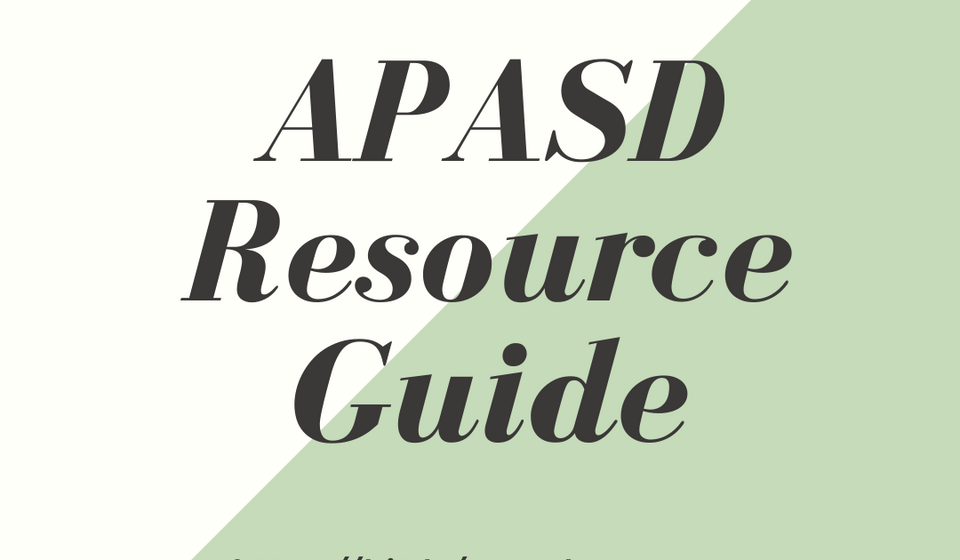 APSAD Resource Guide