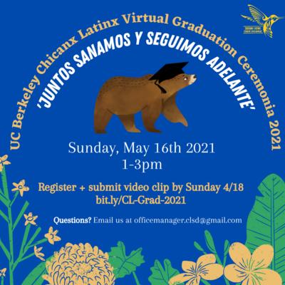 Virtual 2021 Chicanx Latinx Graduation